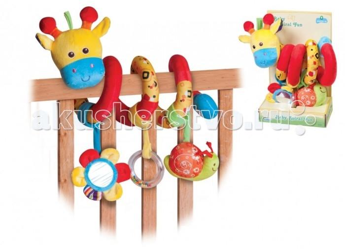 Parkfield Игрушка-растяжка КоровкаИгрушка-растяжка КоровкаParkfield Игрушка-растяжка Коровка – спиральная игрушка, которую можно закрепить на детской кроватке или ручке автолюльки-переноски/коляски.   Три подвесные игрушки замечательно развлекут кроху дома в кроватке или во время путешествия.  Подвеска Коровка крепится без труда. Не даст вашему ребенку заскучать. Поможет познавать мир. Улучшает воображение вашего чада, сделана из высококлассных материалов.<br>