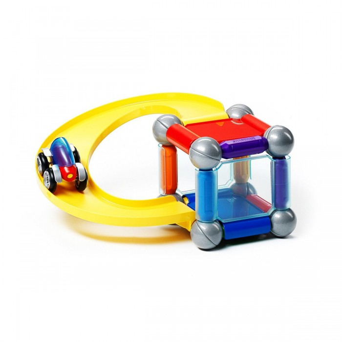 Bondibon Специальный (Special) магнитный SmartMax набор: ПаркингСпециальный (Special) магнитный SmartMax набор: ПаркингМагнитный конструктор SmartMax/ Специальный (Special) набор: Паркинг.  Увлекаться игрой воображения и получать от этого сто процентов удовольствия – вот задача такого конструктора!   Такой конструктор не только будет развлекать вашего малыша игрой, освобождая надолго вас от его требовательного внимания, но и познакомит вашего почемучку с принципом действия магнитов, и позволит собрать интересные модели, что не сможет не удивить родителей!   Детали во всех наборах крупные и легкие, поэтому они прекрасно подходят для малышей. Палочки имеют оболочку, сделанную из высококачественной пластмассы, и сердцевину – достаточно сильный магнит.   Магниты держатся внутри деталей очень прочно, и выпадение их во время игры исключено.<br>