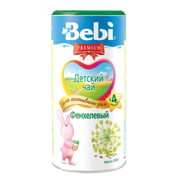 Чай Bebi Детский чай Premium фенхелевый с 4 мес. 200 г