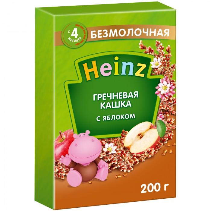 Каши Heinz Гречневая безмолочная кашка с яблоком с 4 мес. 200 г