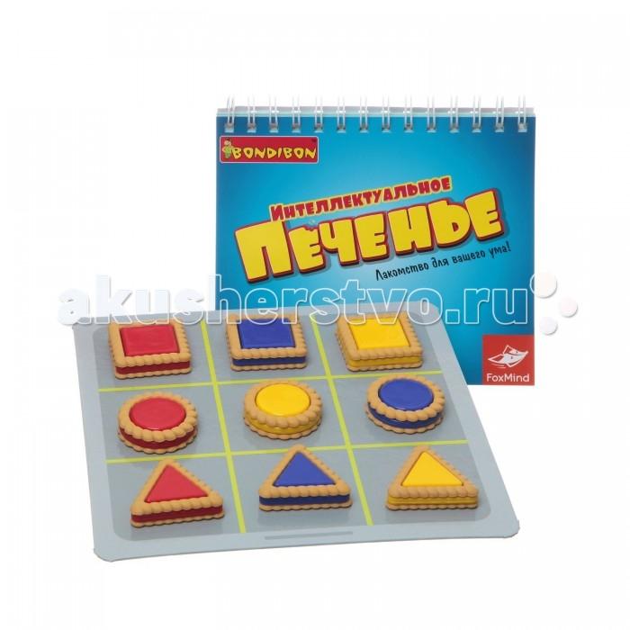 Bondibon Настольная игра Интеллектуальное печеньеНастольная игра Интеллектуальное печеньеНастольная игра Интеллектуальное печенье.  Для решения головоломок игрок использует визуальные логические подсказки, показывающие, куда размещать печенье. Проходите уровни, решайте головоломки, развивайте логическое мышление.   Отличное лакомство для ума без калорий!<br>
