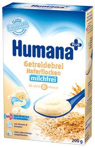 Humana Безмолочная Овсяная каша с 6 мес. 200 г