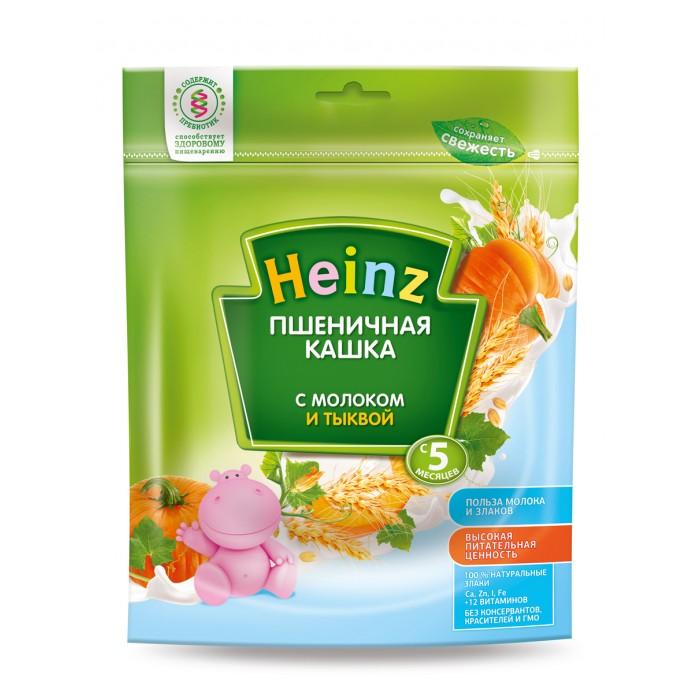 Каши Heinz Пшеничная молочная кашка с тыквой с 5 мес. 250 г