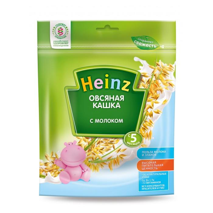 Heinz Молочная Овсяная кашка с 5 мес. 250 г