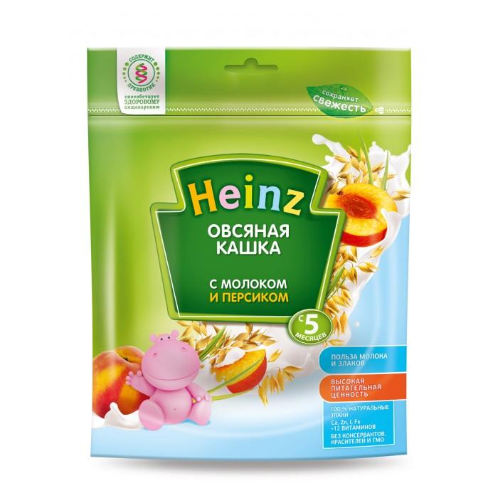 Heinz Молочная Овсяная кашка с персиком с 5 мес. 250 г