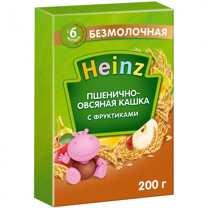 Heinz Безмолочная Пшенично-овсяная кашка с фруктиками с 6 мес. 200 г