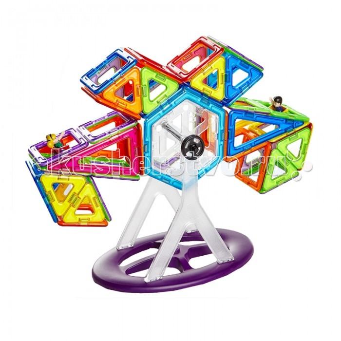 Конструктор Магникон МК-112 магнитный (112 деталей)МК-112 магнитный (112 деталей)Конструктор Магникон МК-112  Магникон МК-112-отличный набор, который можно смело порекомендовать детям, только начинающим своё общение с семейством конструкторов Maгникон.  Все детали разноцветные, яркие, и, без сомнения, понравятся любому малышу. Ребенок научится различить геометрические формы, цвета, сможет освоить новый мир форм, делать несложные аппликации. Малыш сам создаст свой первый домик не только на плоскости, но и в трехмерном пространстве и сможет таким образом почувствовать разницу между плоскими и объемными фигурами.<br>