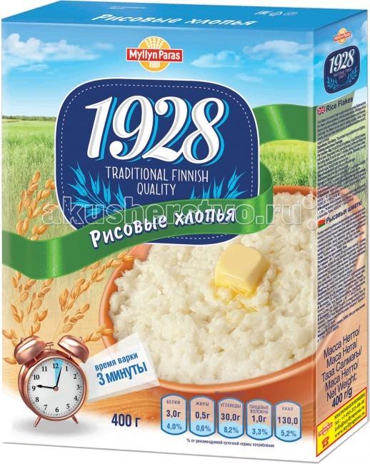 Myllyn Paras Рисовые хлопья 400 гРисовые хлопья 400 гРисовые хлопья Myllyn Paras изготовлены из зерен риса, которые расплющены в тонкие хлопья. Из Рисовых хлопьев Myllyn Paras можно быстро и легко приготовить вкусную рисовую кашу. Хлопья можно использовать для приготовления блюд и выпечки, например, для начинки пирожков. Состав: рис. Время варки: 3 мин. Рекомендации по приготовлению: (на 4-х человек)  5 стаканов воды, молока или сока, 1,75 стакана Рисовых хлопьев Мюллюн Парас. Засыпать хлопья в кипящую жидкость. Варить 3 минуты, периодически помешивая. Протомить минуту под крышкой. Добавить соль, сахар по вкусу, по желанию – сливочное масло.<br>