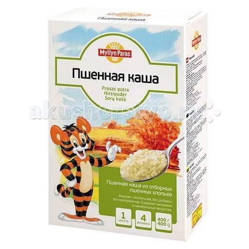 Myllyn Paras Безмолочная Пшённая каша 400 гБезмолочная Пшённая каша 400 гПшённая каша Мюллюн Парас изготовлена из отборного пшена, расплющенного в тонкие хлопья, без добавок, не содержит консервантов. Содержит витамины и минеральные вещества. Она великолепно подходит для приготовления детской каши.<br>