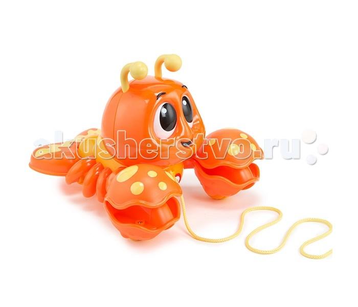 Каталка-игрушка Little Tikes Клацающий лобстер на веревочке