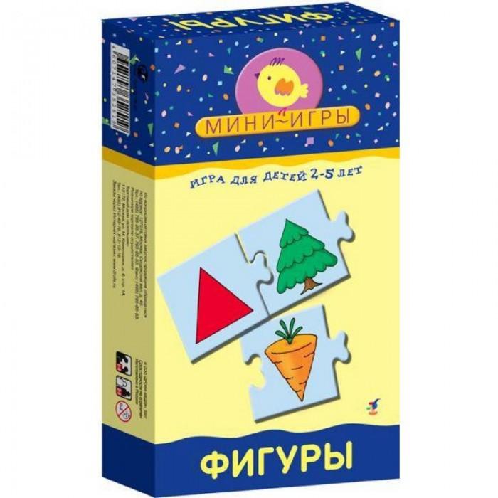 Дрофа Настольная игра Фигуры серия Мои игрыНастольная игра Фигуры серия Мои игрыИгра развивает произвольное внимание, логическое мышление, память, совершенствует мелкую моторику рук. Элементы самопроверки развивают самостоятельность, умение оценивать свои действия.  Серия Мини-игры - это простые игры, состоящие из карточек с пазловыми замками, помогут подготовить ребенка к школе: познакомят с буквами, научат различать цвета, распознавать геометрические фигуры, классифицировать предметы по различным признакам, составлять логические цепочки.<br>