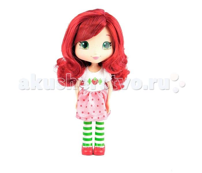 Strawberry Shortcake Кукла Земляничка для моделирования причесок 28 смКукла Земляничка для моделирования причесок 28 смМилая кукла для моделирования причесок Шарлотта Земляничка станет отличным подарком для девочки. Маленькие поклонницы мультсериала Шарлотта Земляничка будут особенно рады, ведь данная кукла копия главной героини.  Кукла обладает длинными розовыми волосами, которые можно уложить в разные прически.   Для моделирования в наборе можно найти все необходимые аксессуары: расческу, 2 заколки, 2 пряди светло-розовых волос и украшения-ягодки.   Девочка сможет ощутить себя настоящим парикмахером, для этого ей потребуется только воображение.   Кукла Земляничка сделана из пластика, а платье из качественного текстиля.  Ручки сгибаются в суставах, что расширит возможности при игре.<br>