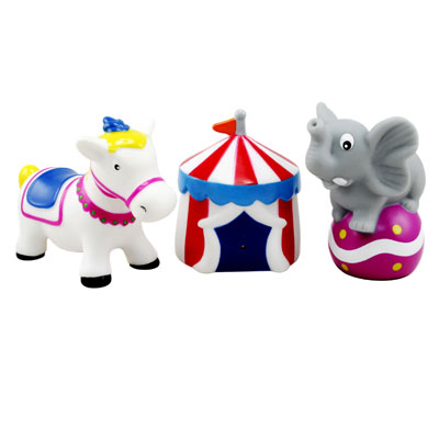 Игрушки для купания Курносики Набор игрушек-брызгалок Цирк