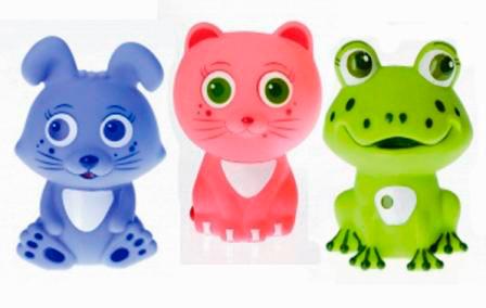 Игрушки для купания Курносики Набор игрушек для ванны Первые друзья