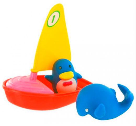 Игрушки для купания Курносики Игрушка для ванной Удивительная регата