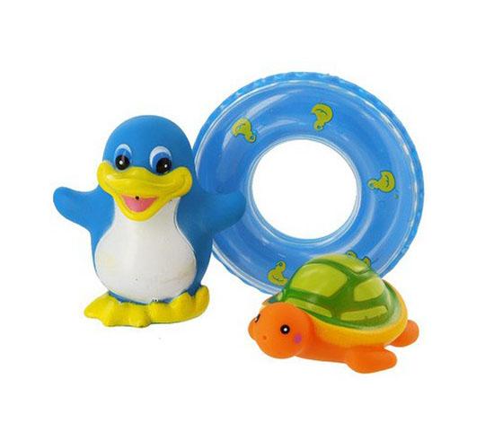 Игрушки для купания Курносики Набор игрушек для ванной Веселое купание