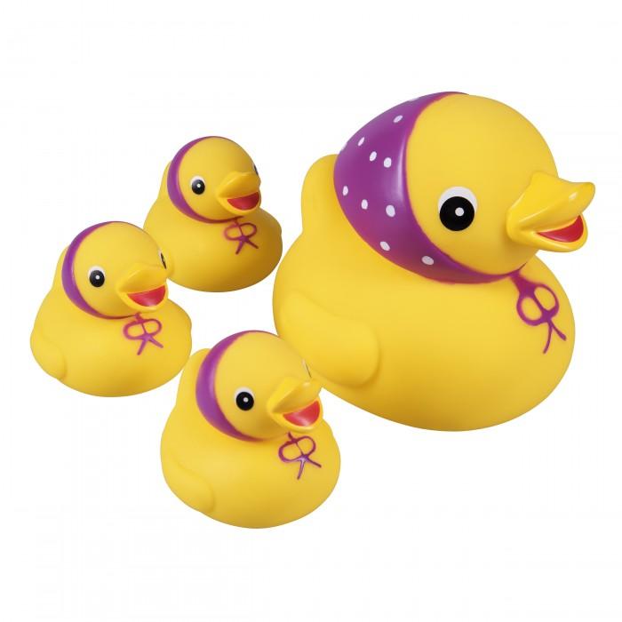 Игрушки для купания Курносики Игрушка для ванной Семейка уточки