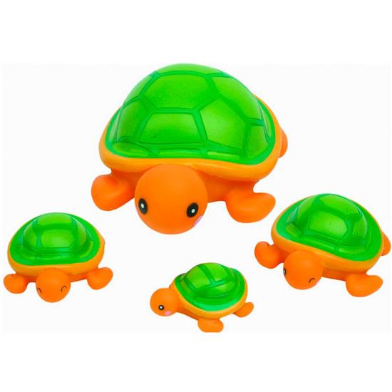 Игрушки для купания Курносики Игрушка для ванной Семейка черепашки