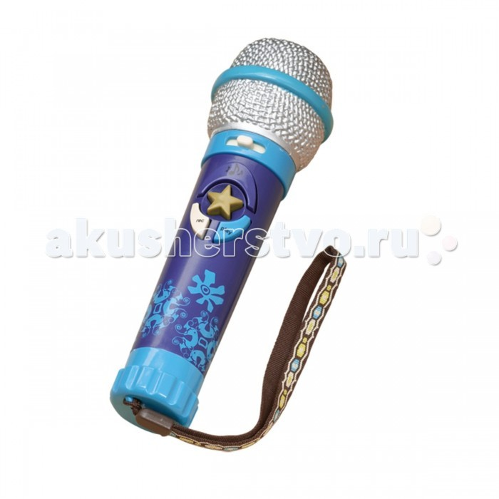 Музыкальная игрушка Battat Микрофон записывающийМикрофон записывающийМузыкальная игрушка Battat Микрофон записывающий. Эта игрушка – нужный предмет в домашней коллекции Вашего ребенка. Ведь именно микрофон поможет ребенку раскрепоститься и чувствовать себя уверенно.   В микрофоне присутствует множество разнообразных функций: он позволяет регулировать громкость звука, обладает восемью встроенными мелодиями и регулирует темп. Кроме того, Вы можете записывать на микрофон свое сообщение, стишок юного таланта, его песенку или мелодию в мамином исполнении, а затем прослушивать запись.   Снизу игрушки есть шнурок из текстиля, который легко надеть на детскую ручку. Записав свою новую песенку на микрофон, ребенок сможет устроить Вам незабываемый и теплый концерт. Игрушка отлично подойдет для любого детского праздника, стоит вывернуть коробку наизнанку и Вы получите яркую, торжественную упаковку.    В комплект входят 3 батарейки ААА.   Размеры игрушки: 5 х 18,5 см<br>