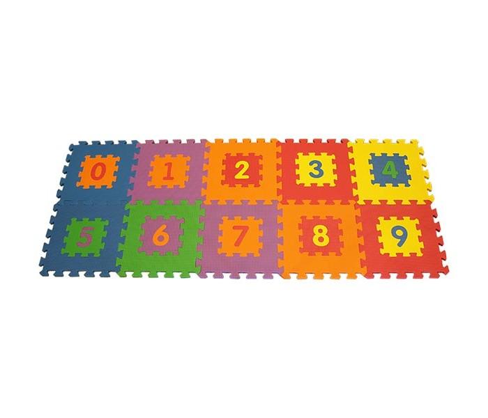 Игровой коврик FunKids Цифры-1 12 KB-019Цифры-1 12 KB-019Игровой коврик FunKids Цифры-1 12 KB-019 - набор из 10 квадратных плит разного цвета с вложенными малыми квадратами-пазлами и цифрами от нуля до девяти, которые можно вынимать, использовать самостоятельно и вставлять обратно.   Игровой коврик FunKids Цифры-1 12 KB-019 может стать отличным покрытием в детской комнате вашего ребенка. На нем можно ползать, прыгать, строить сооружения. Яркий, красивый, разноцветный и приятный на ощупь коврик-пазл поможет малышу изучить цвета и цифры.   Особенности:  легко собирается - конфигурацию настила можно изменять в зависимости от геометрии комнаты квадраты-пазлы можно соединять между собой, получая обьемные конструкции мягкая рифленая поверхность - смягчает удары при падении и поглощает шум легкий и компактный для хранения и транспортировки не содержит фталат, аммиак и ПВХ Игровой коврик FunKids Цифры-1 12 KB-019 совместим с любыми ковриками-пазлами FunKids в любых вариантах. Также к коврику можно подобрать декоративные бордюры: угловые и боковые (продаются отдельно).  Предупреждение! Изделие содержит мелкие детали. Во избежание несчастных случаев НЕ используйте для детей младше 3-х лет.  Сразу после вскрытия упаковки возможен специфичный запах нового материала, который полностью уходит в течении 2-3 дней. Материал остается полностью нейтральным в плане запаха и безопасным для ребенка.  Размер плит: 30 см х 30 см х 1,5 см (12) Площадь набора в собранном виде: 0,9 кв.м.<br>