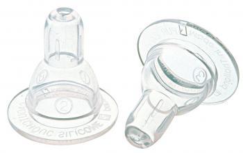 Соска Мир детства силиконовая классическая, регулируемый поток 6+силиконовая классическая, регулируемый поток 6+Подходит для бутылочек со стандартным горлом. В зависимости от положения соски во рту ребенка, ее отверстие обеспечивает минимальное, среднее и максимальное поступление жидкости. Три возможных положения соски отмечены соответственно цифрами 1, 2, 3. Оптимальна для всех типов питания.  Материал: мягкий силикон  Упаковка: блистер  Срок годности: 4 года, срок службы — 1 месяц  Рекомендуемый возраст: от 6 месяцев<br>