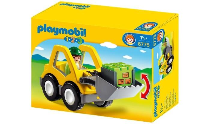 Конструктор Playmobil 1.2.3.: Экскаватор1.2.3.: ЭкскаваторPlaymobil 1.2.3.: Экскаватор.  Серия 1.2.3 Playmobil - потрясающие конструкторы из Германии для детей от 1,5 до 3 лет! С первой маленькой фигурки и до последней большой детали ребенок будет увлечен и восхищен разнообразием, функциональностью, оригинальным дизайном и удобными формами игрушек.   Теперь вопрос Что подарить? исчезнет у родителей и близких. Конечно, Playmobil! Продукция сертифицирована, экологически безопасна для ребенка, использованные красители не токсичны и гипоаллергенны.<br>