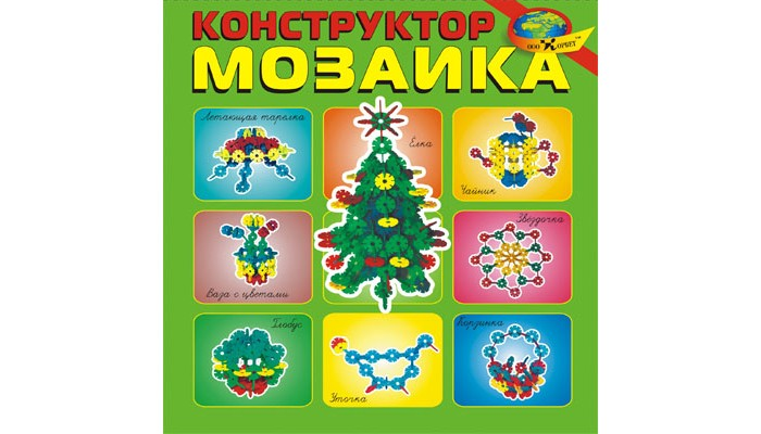 Конструктор Корвет Мозаика (80 элементов)