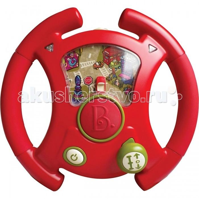 Battat Руль Тебе водить!Руль Тебе водить!Battat Руль Тебе водить! Яркий красивый руль с разными кнопочками понравится Вашему малышу. Можно ездить вперед, назад, вправо, влево – машинка на дисплее будет двигаться вместе с командами. Чтобы поездка была нескучной, можно включить мелодии.  Особенности: светодиодные индикаторы поворота показывают, куда Вы едете 3 мелодии в разных стилях переключение передач подсветка экрана для ночной езды удобная подушечка для колен.<br>