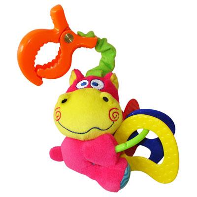 Подвесная игрушка Мир детства Мини-подвеска Бегемотик