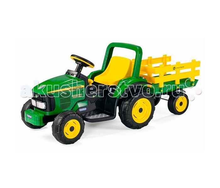 ������������� Peg-perego JD Power Pull Tractor