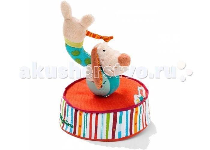 Интерактивная игрушка Lilliputiens Заводная музыкальная фигура Собачка Джеф