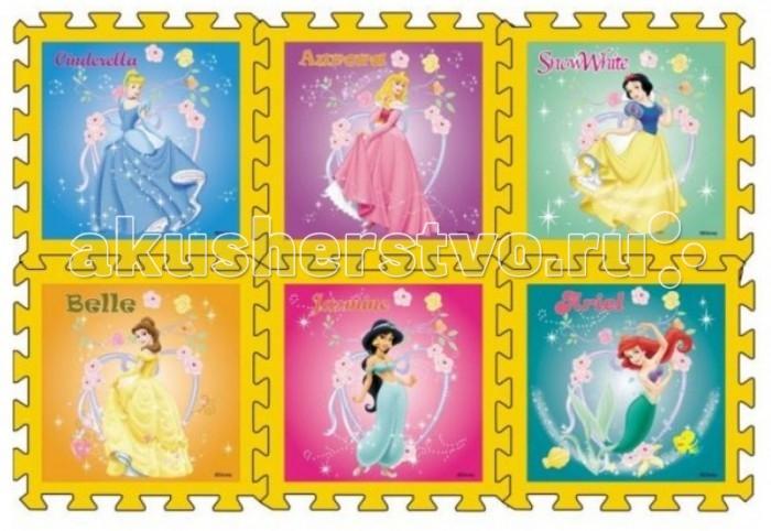 Игровой коврик Играем вместе Дисней Принцесса