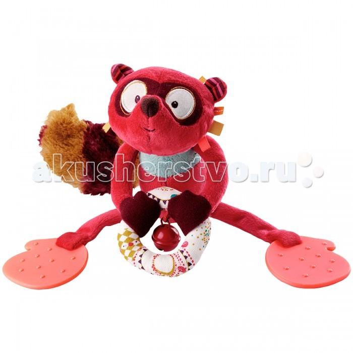 Подвесная игрушка Lilliputiens Лемур Джордж со звоночком