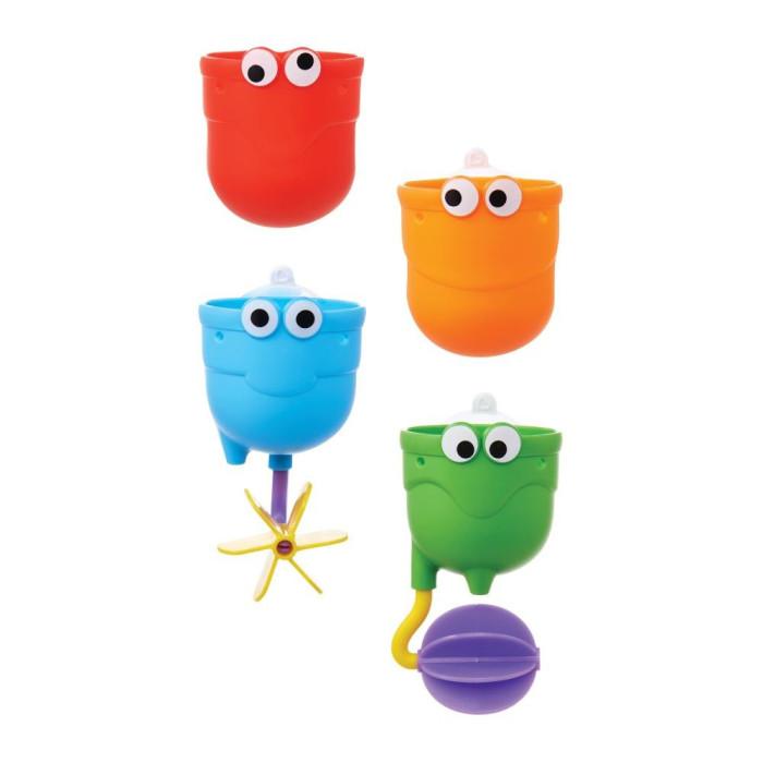 Munchkin Игрушки для ванны ВодопадИгрушки для ванны ВодопадИгрушка для ванной Munchkin Водопад  Устроить настоящий водопад в собственной ванной - легко! Купание станет гораздо веселее, если прикрепить над ванной красочные чашечки и следить, как через них замысловато переливается вода. Три чашечки из комплекта легко крепятся на стену с помощью специальной присоски, каждая из них имеет специальный подвижный элемент, который направляет струю воды и делает игру гораздо увлекательнее. Четвертая чашка предназначена для того, чтобы малыш зачерпывал ею воду.  удобная форма для маленьких ручек игрушки можно установить по вертикали в одну линию, чтобы устроить непрерывный водопад, или разместить их так, чтобы вода стекала хаотично крепятся на стену в ванной с помощью удобных присосок способствуют развитию мелкой моторики, фантазии, логического мышления знакомит малыша со свойствами окружающих его предметов подходит для детей с 12 месяцев  Миссия Munchkin, американской компании с 20-летней историей: избавить мир от надоевших и прозаических товаров, искать умные инновационные решения, которые превращает обыденные задачи в опыт, приносящий удовольствие. Понимая, что наибольшее значение в быту имеют именно мелочи, компания создает уникальные товары, которые помогают поддерживать порядок, организовывать пространство, облегчают уход за детьми – недаром компания имеет уже более 140 патентов и изобретений, используемых в создании ее неповторимой и оригинальной продукции. Munchkin делает жизнь родителей легче!<br>