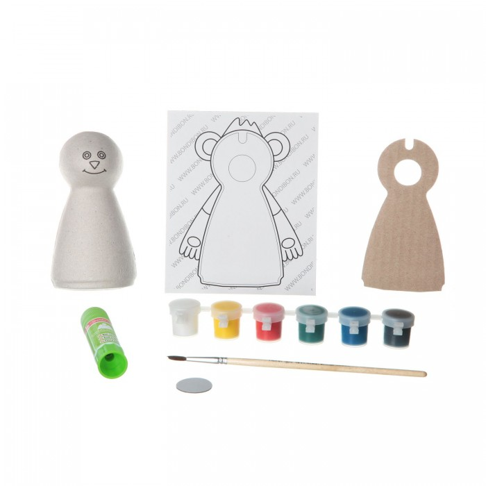 Bondibon Набор для детcкого творчества Магнит из шар-папье Обезьянка (мальчик)Набор для детcкого творчества Магнит из шар-папье Обезьянка (мальчик)Набор для детcкого творчества Магнит из шар-папье обезьянка (мальчик).  Это яркие наборы для рисования, с помощью которых можно сделать забавные сувениры своими руками.   Малыш сможет своими руками или с вашей помощью собрать все элементы и раскрасить как ему захочется, или воспользоваться подсказками из инструкции. Осталось приклеить магнит с обратной стороны – и симпатичный сувенир готов! Его можно прикрепить на холодильник или подарить другу.   Наборы замечательно развивают фантазию и художественный вкус.<br>