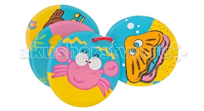 Игрушки для купания Мир детства Книжка для ванной Подводное царство