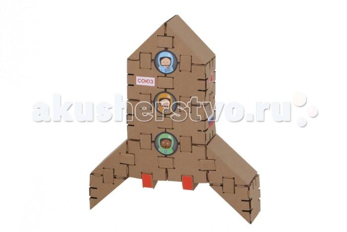 Конструктор Yohocube Набор Ракета 12 деталей