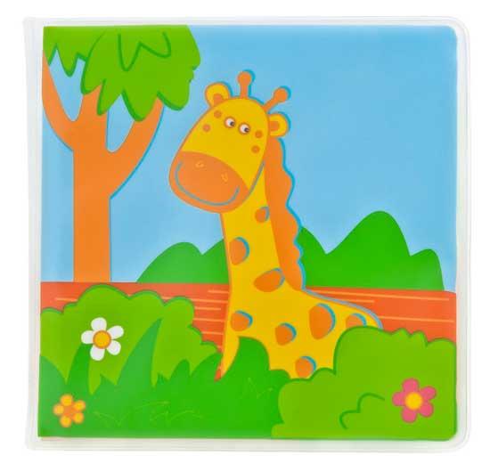 Игрушки для купания Мир детства Книжка для ванной Путешествие в джунглях