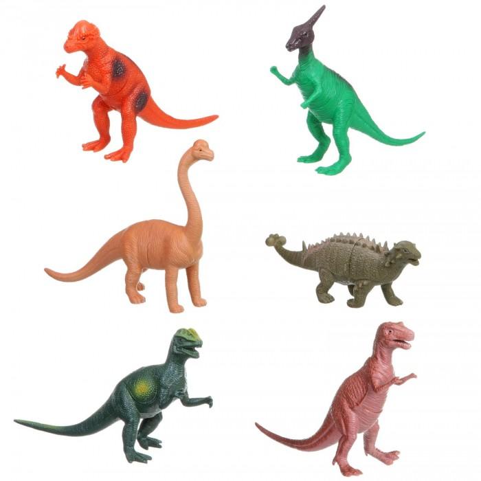 Bondibon Набор животных Ребятам о Зверятах Динозавры 6 видов 10-13 дюймов 12 шт.