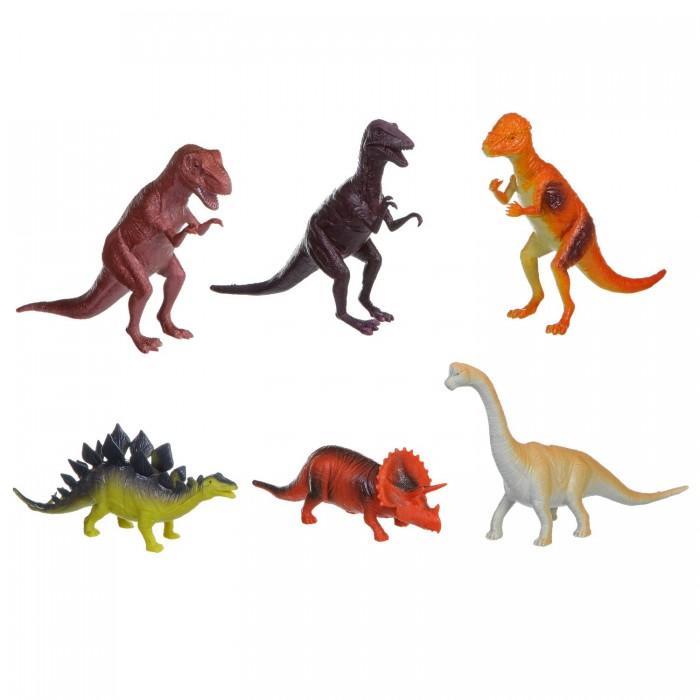 Bondibon Набор животных Ребятам о Зверятах Динозавры 8-10 дюймов 6 шт.Набор животных Ребятам о Зверятах Динозавры 8-10 дюймов 6 шт.Набор животных Ребятам о Зверятах Динозавры 8-10 дюймов 6 шт.  Коллекция животных с 5 континентов.  Фигурки животных выглядят реалистично, чтобы ребёнок играл и познавал окружающий мир с удовольствием.<br>