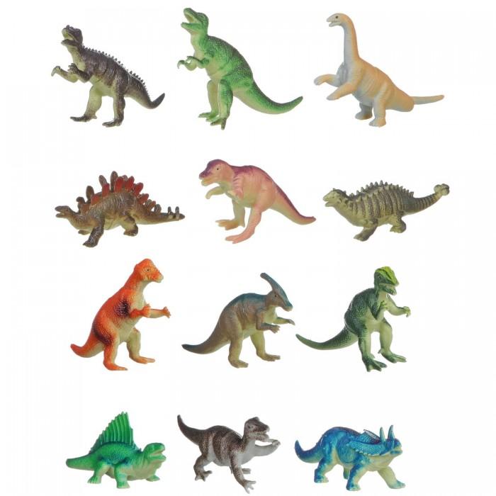 Bondibon Набор животных Ребятам о Зверятах Динозавры 5 дюймов 12 шт.