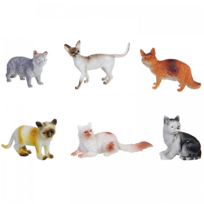 Bondibon Набор животных Ребятам о зверятах Кошки 3 дюйма 6 шт.