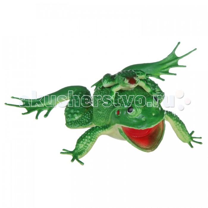 Bondibon Набор животных Ребятам о зверятах Лягушка с лягушонком