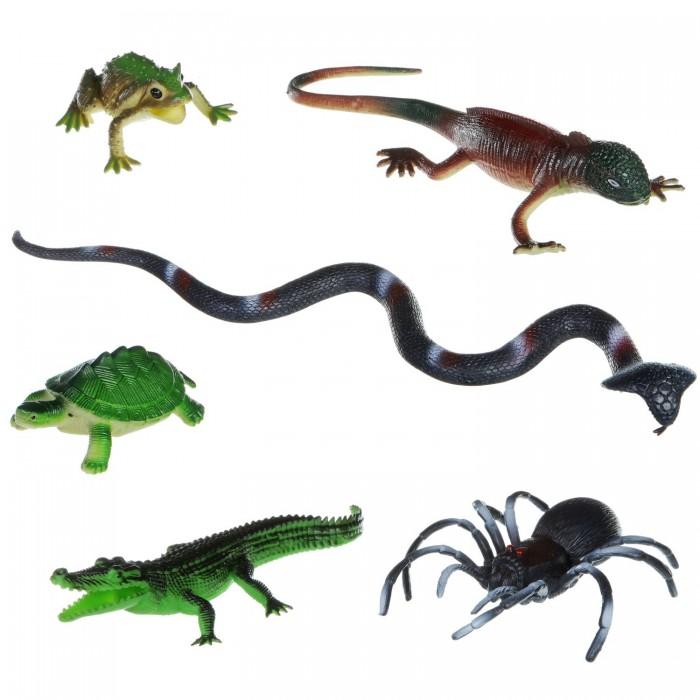 Bondibon Набор животных Ребятам о зверятах Рептилии 6 шт.