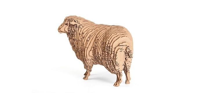 Конструктор Panda Puzzle 3D Овца 48 деталей3D Овца 48 деталей3D Овца представляет собой набор для моделирования из 48 деталей.  Сборка этой модели поможет ребенку с помощью несложных операций создать настоящую дизайнерскую фигурку овцы.   В процессе сборки развивается мелкая моторика, логика и пространственное мышление.   Все детали созданы из безопасного и экологически чистого картона. Отдельные детали собираются и склеиваются.   Инструкция и клей прилагаются. Размер собранной модели 25 х 14 х 20 см.<br>