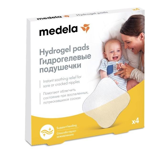 Medela Подушечки гидрогелевые стерильные на грудь 4 шт.