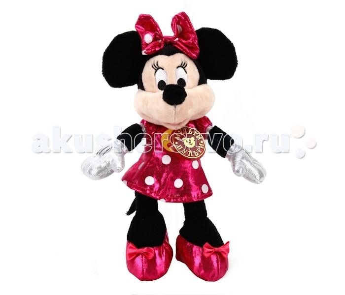 Мягкая игрушка Мульти-пульти Disney Минни Маус музыкальная 16 смDisney Минни Маус музыкальная 16 смМягкая игрушка Мульти-пульти Disney Минни Маус со звуком обязательно понравится вашей малышке и займет ее внимание надолго.  Особенности: Тельце игрушки изготовлено из текстиля и синтепона. Компактную и легкую игрушку малыш всегда сможет брать с собой на прогулку. Крепкие швы надежно удерживают набивку игрушки внутри.  Играя с героем мультфильма малыш развивает мышление, воображение слуховое восприятие. Порадуйте своего ребенка такой замечательной игрушкой.<br>