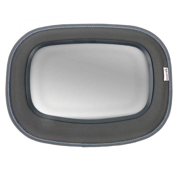 Munchkin Зеркало контроля за ребёнком в автомобиле Baby In-SightЗеркало контроля за ребёнком в автомобиле Baby In-SightЗеркало контроля за ребенком в автомобиле Baby In-Sight  крепится напротив ребенка, сидящего против направления движения небьющееся зеркало гарантирует повышенную безопасность зеркало Clear-Sight обеспечивает четкое отражение испытано на прочность рама Soft-touch несколько вариантов крепления, подходящих для большинства моделей автомобилей  Размер зеркала: 21х14 см.  На протяжении более 25 лет американская компания Munchkin работает над тем, чтобы избавить мир от надоевших прозаических товаров и облегчить жизнь каждого родителя, предлагая инновационные решения для ухода за малышом. Munchkin знает, что именно небольшие детали в жизни родителей и детей имеют решающее значение - все товары этой марки просты и понятны даже ребенку, при этом они способны превратить обыденные задачи в настоящее удовольствие!<br>
