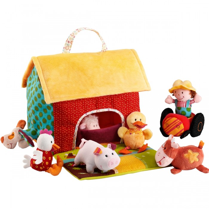 Мягкая игрушка Lilliputiens Набор мягких игрушек На ферме