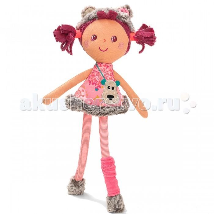Lilliputiens Цезария: мягкая цирковая куколка, маленькаяЦезария: мягкая цирковая куколка, маленькаяLilliputiens Цезария: мягкая цирковая куколка, маленькая. Открой прелестную коробочку, расписанную яркими красками леса, и познакомься с куклой Цезарией — маленькой кокеткой в костюме медвежонка.   Круглые ушки, меховые ботиночки и золотистая сумочка — Цезария уже готова отправиться с тобой на лесную прогулку.<br>